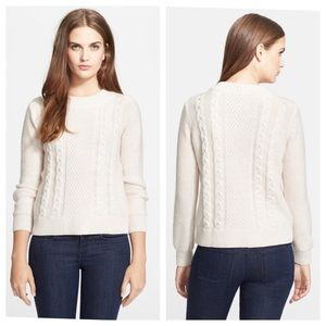 Joie 'Greer' Cable Knit Merino Wool Sweater